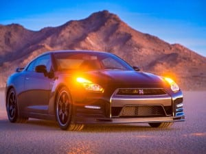2014 Nissan GT-R Lights
