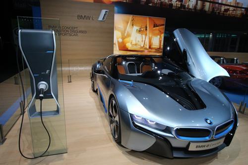 BMW i8 Concept NAIAS