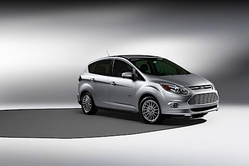 Ford's C-MAX in Hybrid or Plug-in hybrid, Energi