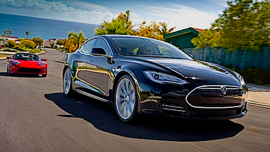 A record 12,000 electric miles around the U.S. with a Tesla Model S