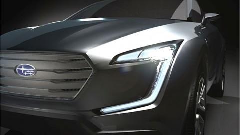Subaru Viziv concept teased ahead of Geneva