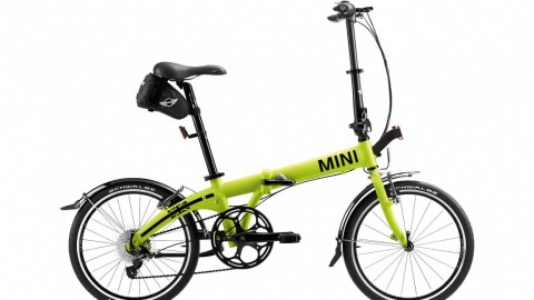 MINI shows off new bicycle