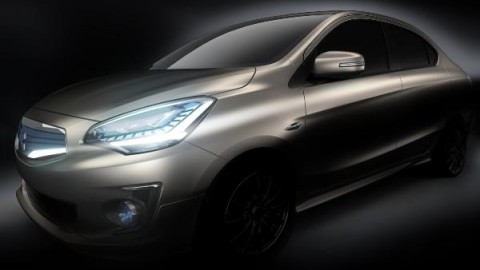 Mitsubishi to debut Concept G4 compact sedan at Bangkok show