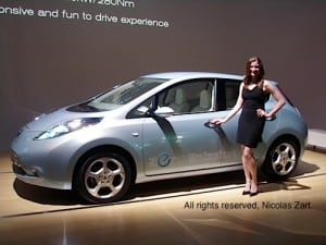 Nissan launches LEAF