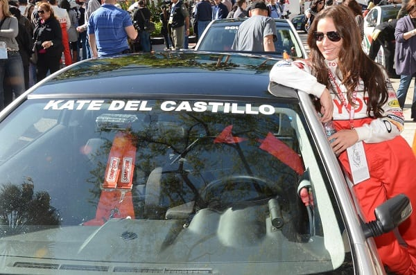 long beach grand prix Kate del Castillo