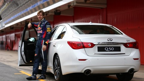F1 champ Sebastian Vettel Infiniti's new Director of Performance [VIDEO]