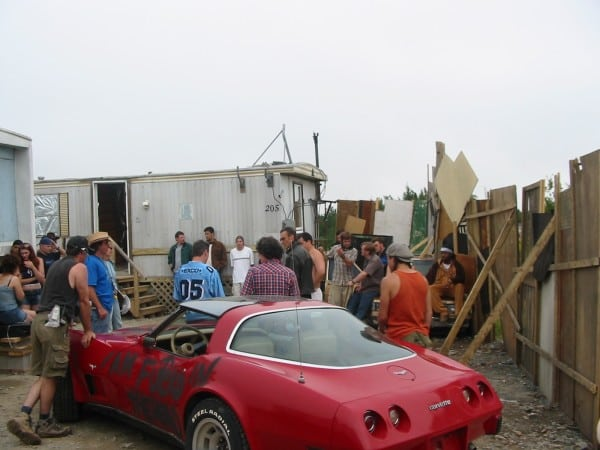 red.corvette.wp2  600x450 The Cars of Trailer Park Boys
