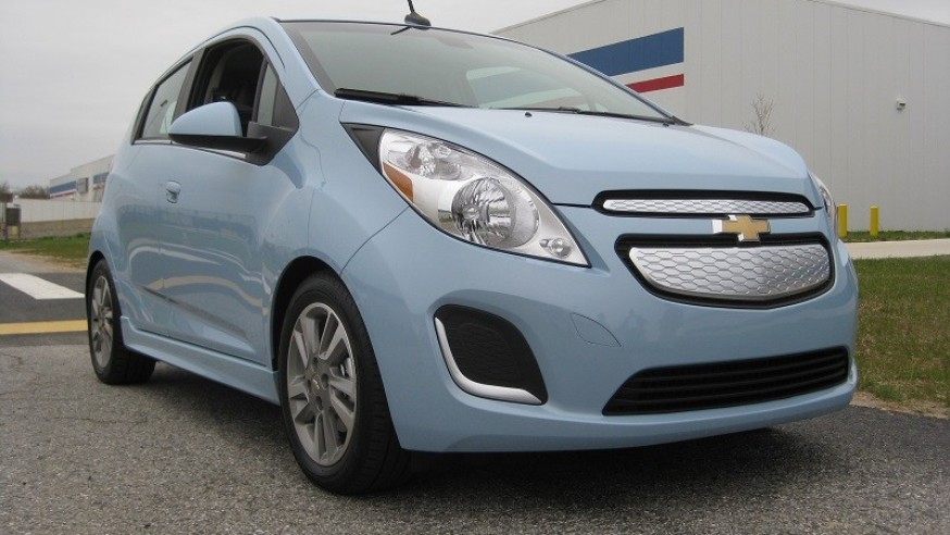 Gm claims spark ev will be most efficient electric car on for Most efficient electric motor