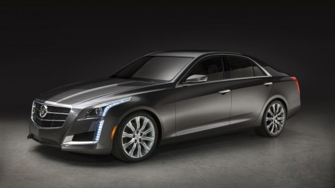 GM to give first production 2014 Cadillac CTS Vsport to SAE
