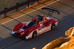 Mitsubishi MiEV Evolution II Test Day Pikes Peak 2013