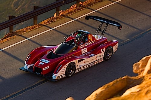 Mitsubishi MiEV Evolution II Test Day Pikes Peak 2013