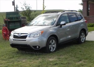 2014 Subaru Forester – great fuel economy, roads optional