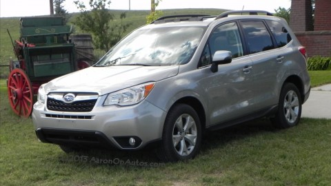 2014 Subaru Forester – great fuel economy, roads optional