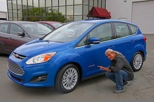 Ford C-MAX Hybrid Road test 2013