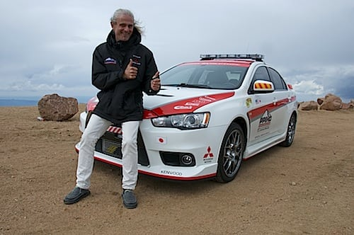 Test Drive: Pikes Peak in the Mitsubishi Lancer Evolution 2014