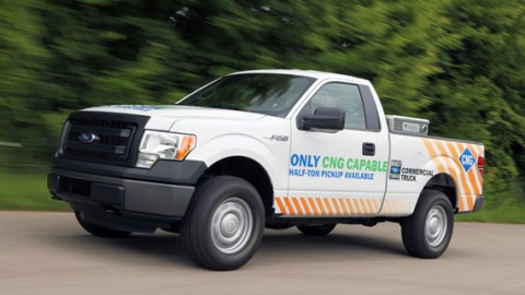 2014 Ford F-150 CNG will be only compressed natural gas truck on the market