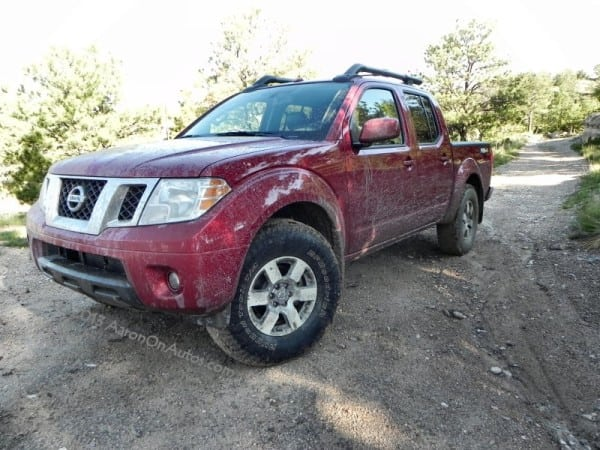 2013 Nissan Frontier Pro4X muddy left front
