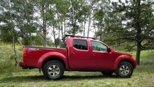 2013 Nissan Frontier Pro4X – the offroad fun machine