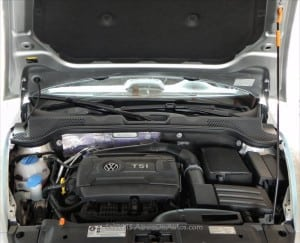 2013 VW Beetle Convertible Turbo engine