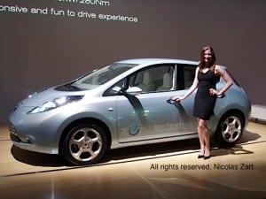 Nissan Leaf unveiling
