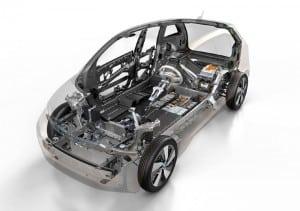 BMW i3 cutaway