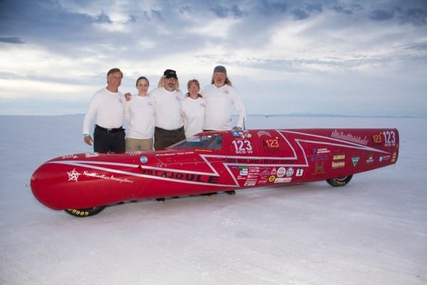 999744 565374053499187 1796640991 n 600x400 KillaJoule from KillaCycle takes speed record at Bonneville