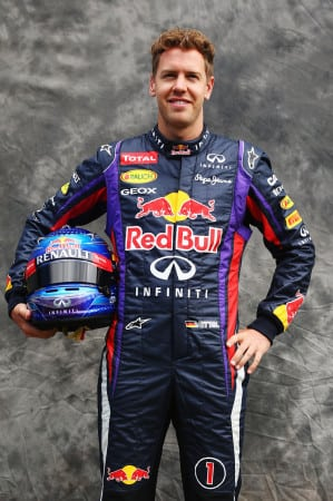 Infiniti Offers Fans the Chance to Design Vettel's Helmet