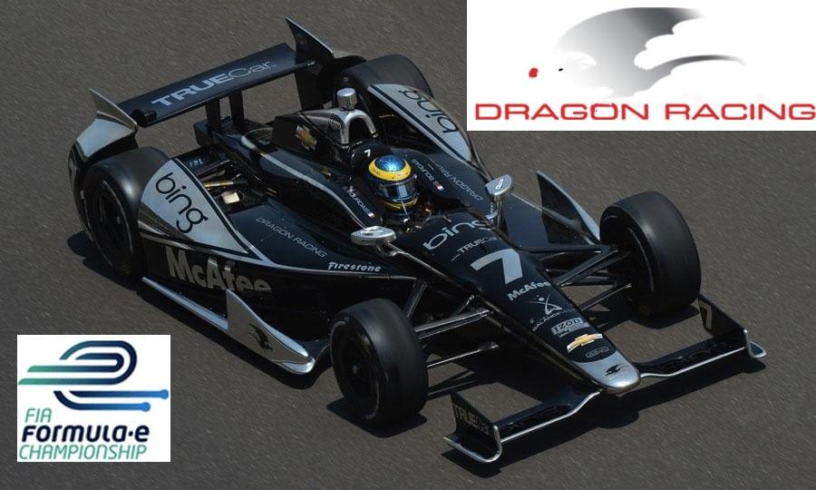 Dragon Racing steps into the Formula E series  CarNewsCafecom