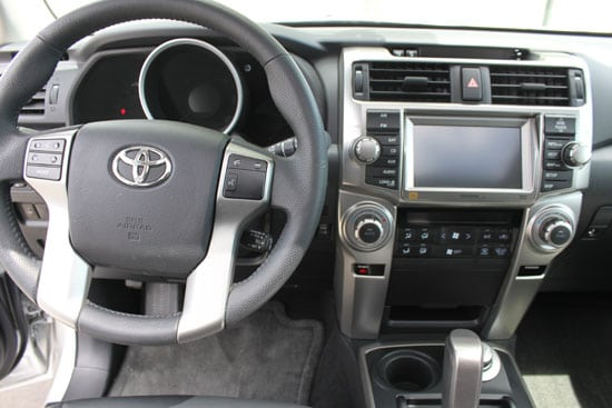 2013 Toyota 4Runner Review - Offroad Fun Plus City Capability Interior