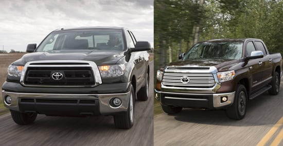 2014 Toyota Tundra First Take Review Old/New