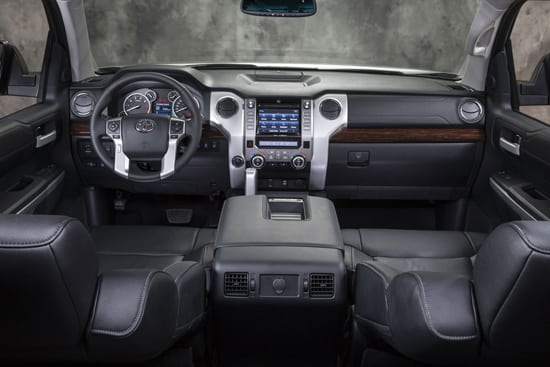 2014 Toyota Tundra First Take Review Interior