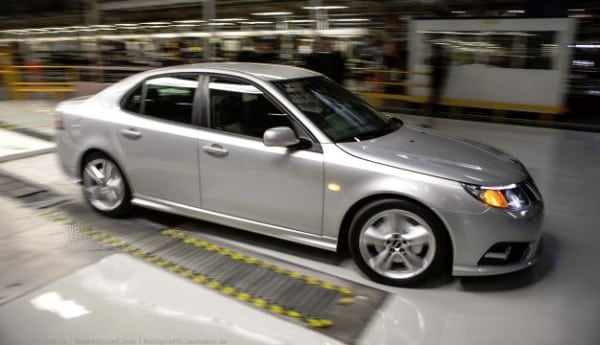 saab 9 3 600x345 Saab is back baby! Plant in Trollhattan Sweden starts Saab 9 3 production again