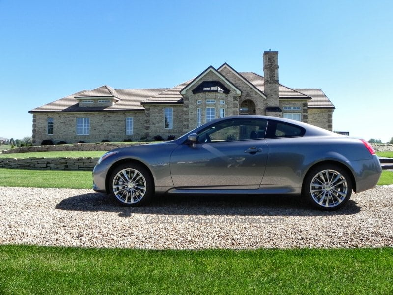 2014 Infiniti Q60 Coupe review shows a fun sports car with surprising