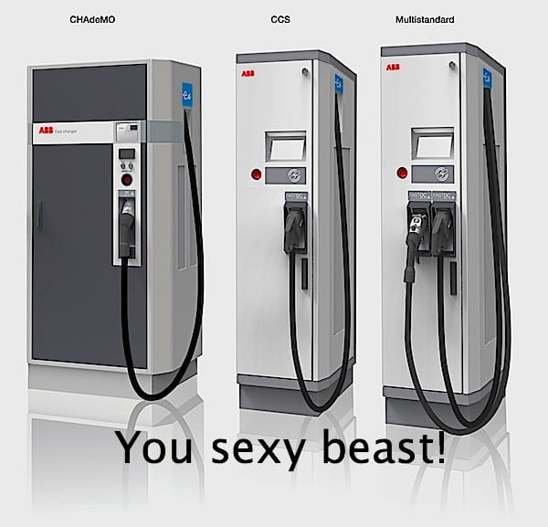 ABB 50 kW Terra 53 DC fast charger