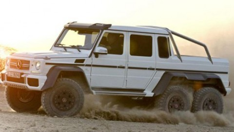 Mercedes-Benz G 63 AMG Offroad Machine – Better than a Raptor?