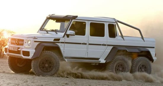 Mercedes-Benz G 63 AMG Offroad Machine - Raptor Killer?