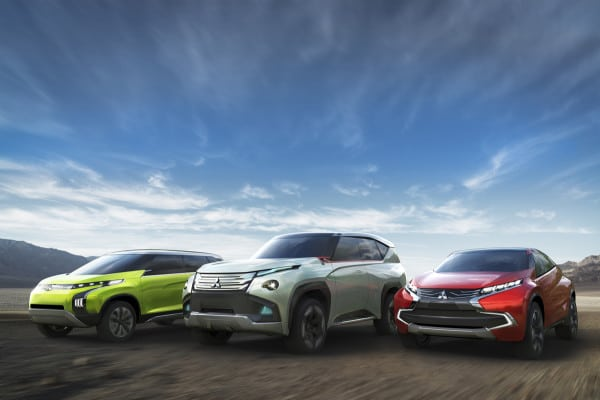 Mitsubishi Motors Corporation (MMC) unveils three world premiere