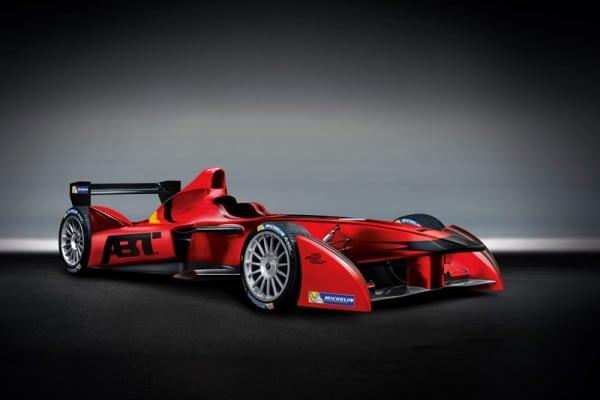 2. Audi Sport ABT Formula E Team - Car livery