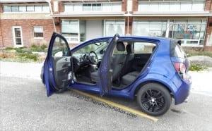 2014 Chevrolet Sonic 5DR LT bothdoorsopen AOA800px