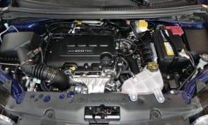 2014 Chevrolet Sonic 5DR LT engine AOA800px