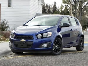 2014 Chevrolet Sonic – a shoebox of fun