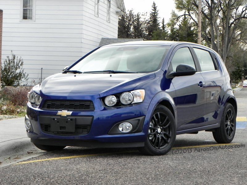 2014 Chevrolet Sonic – a shoebox of fun