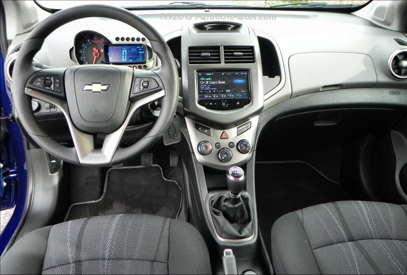 Chevrolet Sonic Dr Lt Interior Front Aoa Px Clipped on 2013 Chevrolet Sonic Lt