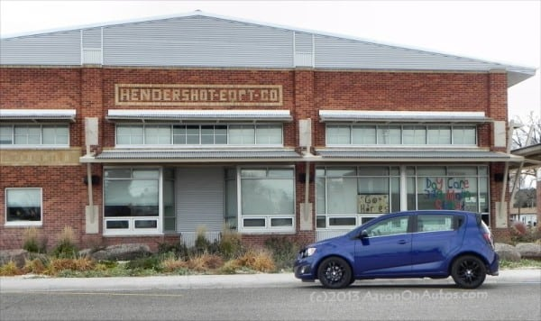 2014 Chevrolet Sonic 5DR LT leftside daycare 5 800px