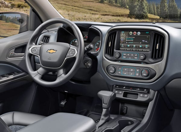 "The interior ""borrows"" many ideas from the Silverado and other GM vehicles."