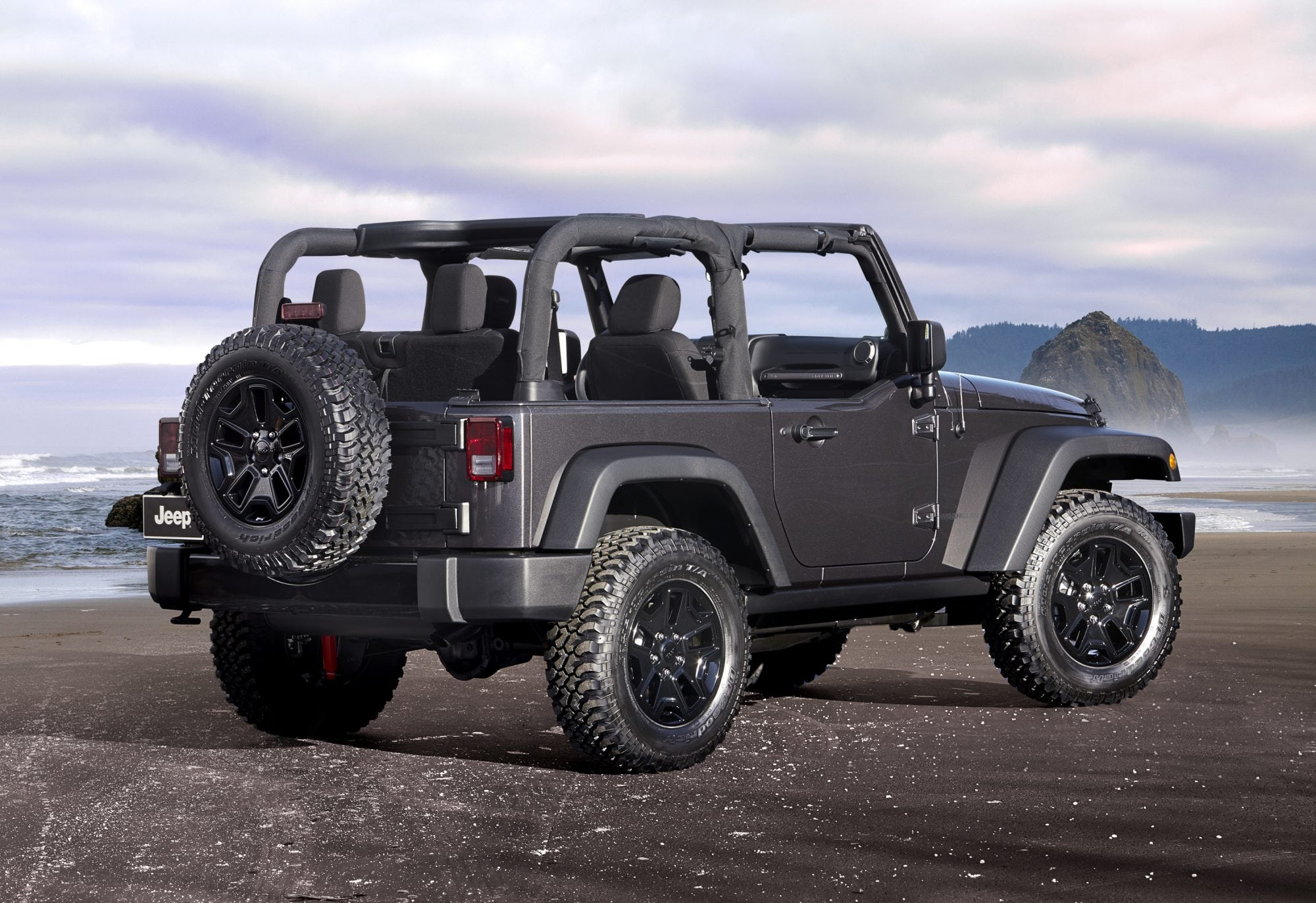 awesome new jeep wrangler willys wheeler edition carnewscafe. Black Bedroom Furniture Sets. Home Design Ideas