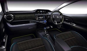 Toyota Aqua Air Concept 2013 interior