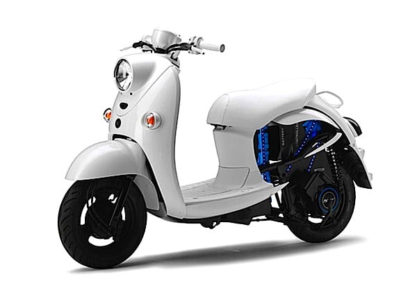 Yamaha's electric scooter concept, the EVINO