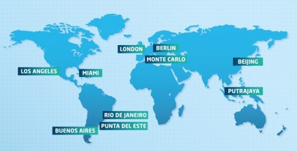2. The final 2014-2015 FIA Formula E Championship calendar unveiled today.