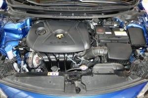 2014 Kia Forte - engine wcover AOA1200px